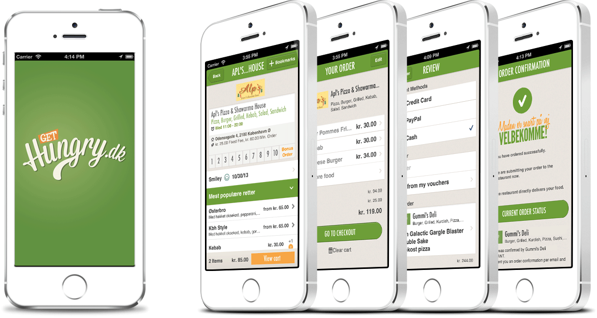 Level1 GmbH Develops The Mobile IOS App For Hungrydk ApS