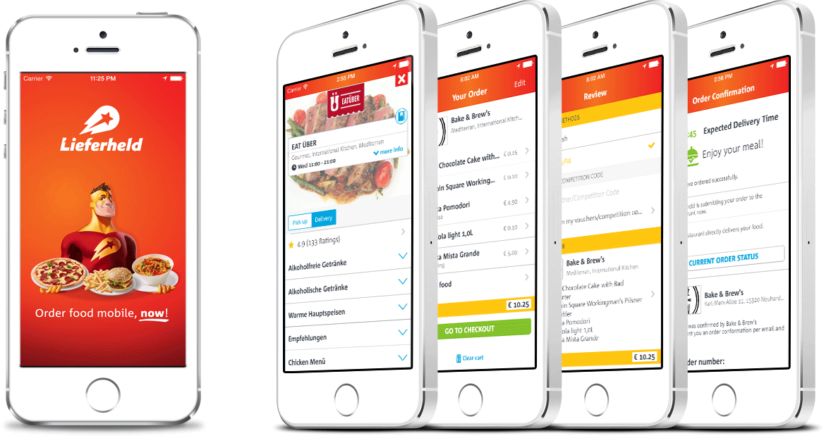 Level1 GmbH develops the mobile iOS app for Delivery Hero Holding GmbH.